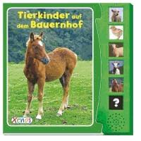 Tierkinder auf dem Bauernhof. Soundbuch.