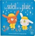 Tilda Caruth et Carly Gledhill - Le soleil et la pluie - Un livre à toucher sur le temps qu'il fait.