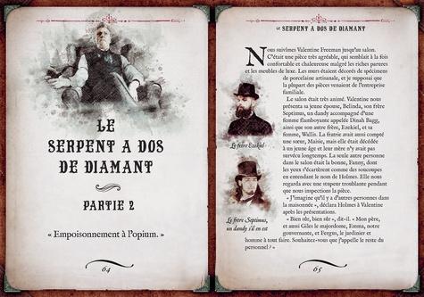 Le carnet d'enquêtes de Sherlock Holmes. 10 grandes énigmes inextricables à résoudre