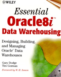Essential Oracle 8i data warehousing. Designing, building and managing Oracle data warehouses.pdf