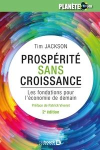 André Verkaeren - Prospérité sans croissance - Les fondations pour l'économie de demain.