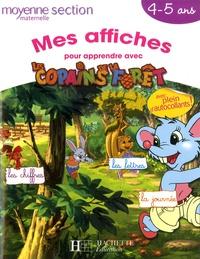 Timoon Animation - Mes affiches pour apprendre avec les Copains de la Forêt - Moyenne Section Maternelle 4-5 ans.