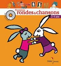 Timothée Jolly - Premières rondes & chansons - 2-4 ans. 1 CD audio