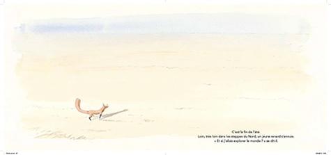 Timothée Le Véel - Le renard blanc.