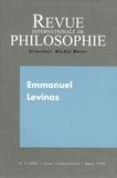 Catherine Chalier et Gérard Bensussan - Revue internationale de philosophie N° 235 mars 2006 : Emmanuel Lévinas.