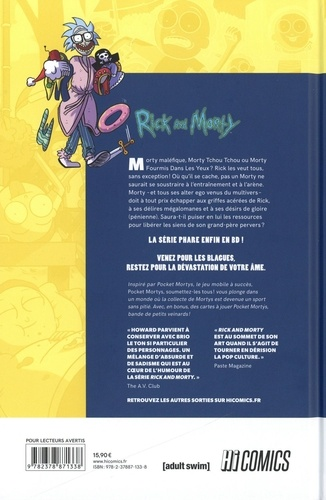 Rick & Morty  Pocket Mortys. Soumettez-les tous !
