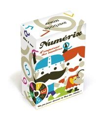 Tino et B Kersten - Numérix - L'empereur des nombres. Joue avec les rangs des nombres. Dès 8 ans.