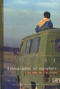 Tiphaine Barthélemy et Maria Couroucli - Ethnographes et voyageurs - Les défis de l'écriture.
