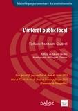 Tiphaine Rombauts-Chabrol - L'intérêt public local.