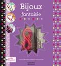 Tipivoine - Bijoux fantaisie - Avec 3 cordons en satin, 1 breloque en forme de chat, 1 breloque en forme de dauphin et 3 anneaux.