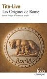Tite-Live - Histoire romaine - Tome 1, Les Origines de Rome, édition bilingue français-latin.