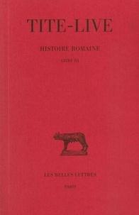 Tite-Live - Histoire romaine - Tome 3 Livre III.