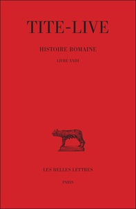 Galabria.be Histoire romaine - Tome 13 Livre XXIII Image
