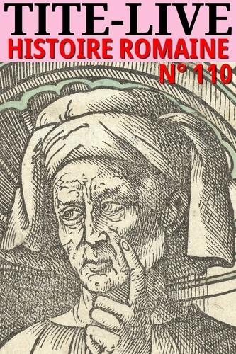 Tite-Live. Histoire romaine - N° 110