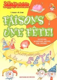 Tiziana Ferroni et M Lironi - Faisons une fête.