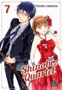Téléchargement ebook gratuit Android Shinobi Quartet Tome 7 9782811646974 PDF DJVU par Tohru Himuka