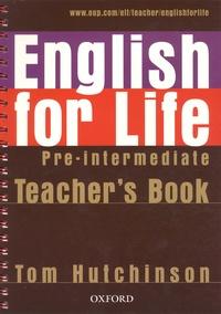 Histoiresdenlire.be English for Life Pre-intermediate - Teacher's Book Image