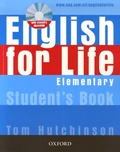 Tom Hutchinson - English for Life - Student's Book Elementary. 1 Cédérom