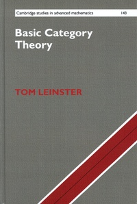 Tom Leinster - Basic Category Theory.