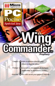 WING COMMANDER. Prophetie - Tom Morgen |
