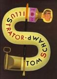 Tom Schamp - Tom Schamp Illustrator - The early years, édition trilingue français-hollandais-anglais.