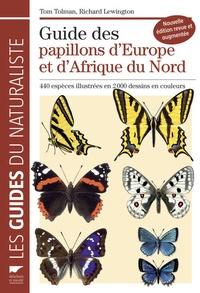 Histoiresdenlire.be Guide des papillons d'Europe et d'Afrique du Nord - 440 espèces illustrées en 2000 dessins en couleurs Image