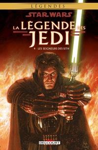Tom Veitch et Kevin James Anderson - Star Wars, La légende des Jedi Tome 4 : Les seigneurs des Sith.