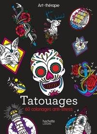 Coloriage Anti Stress Grand Format.Tatouages 60 Coloriages Anti Stress Toma Pegaz Grand Format
