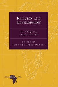 Tomas Sundnes drønen - Religion and Development - Nordic Perspectives on Involvement in Africa.