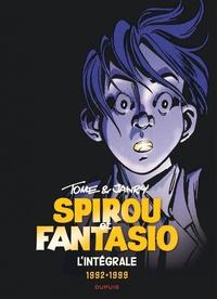 Tome et  Janry - Spirou et Fantasio Intégrale Tome 16 : 1992-1999 - Le rayon noir ; Luna fatale ; Machine qui rêve.