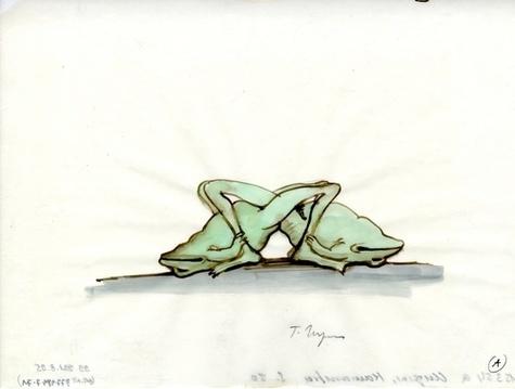 Kamasutra des grenouilles. Un bestiaire érotique de Tomi Ungerer
