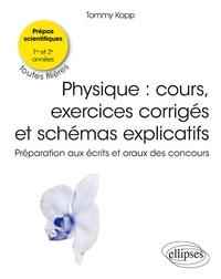 Cours et exercices de physique- Bien préparer les écrits et les oraux. CPGE toutes filières 1e et 2e années - Tommy Kopp pdf epub