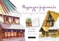Tomohisa Monma - Paysages japonais - Coloriages anti-stress.