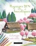 Tomohisa Monma - Paysages zen et bucoliques - Coloriages anti-stress.