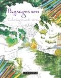 Tomohisa Monma - Paysages zen - Coloriages anti-stress.