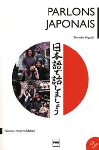 Tomoko Higashi - Parlons le japonais - Méthode de japonais pour niveau intermédiaire, tome 2. 1 CD audio