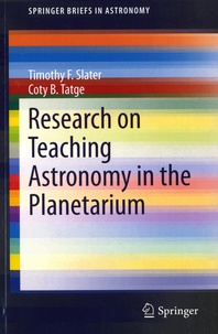 Research on Teaching Astronomy in the Planetarium - Tomothy F. Slater | Showmesound.org
