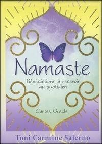 Toni Carmine Salerno - Namaste - Bénédictions à recevoir au quotidien. Cartes Oracle.