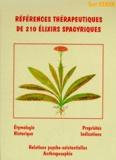 Toni Ceron - Références thérapeutiques de 214 Elixirs Spagyriques (180 Unitaires et 34 complexes).