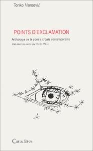 Points dexclamation - Anthologie de la poésie croate contemporaine.pdf