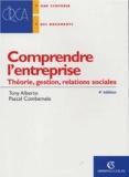 Tony Alberto et Pascal Combemale - Comprendre l'entreprise - Théorie, gestion, relations sociales.