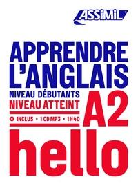 Téléchargement gratuit du livre électronique Apprendre l'Anglais  - Niveau débutants-A2 in French FB2 PDF par Tony Bulger 9782700570755