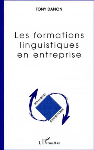 Tony Danon - Les formations linguistiques en entreprise.