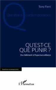 Rhonealpesinfo.fr Qu'est-ce que punir ? - Du châtiment à l'hypersurveillance Image