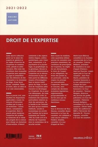 Droit de l'expertise  Edition 2020-2021