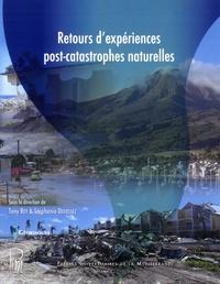 Tony Rey et Stéphanie Defossez - Retours d'experiences post-catastrophes naturelles.
