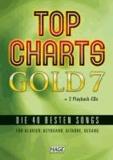 Top Charts Gold 7 mit 2 Playback CDs - Die 40 besten Songs für Klavier, Keyboard, Gitarre und Gesang.