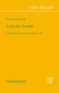 Topik des Sonetts - Gattungstheorie und Gattungsgeschichte.