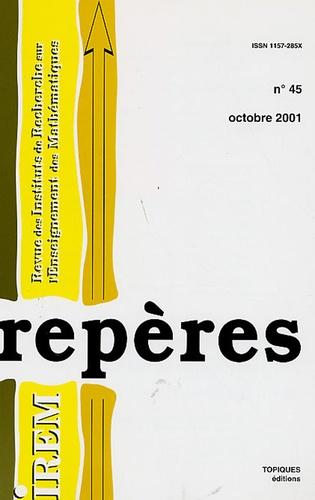 Henri Lombardi et Alain Magen - Repères - IREM N° 45, Octobre 2001 : .