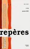 Christian Gobin et Madeleine Marot - Repères - IREM N° 50, Janvier 2003 : .